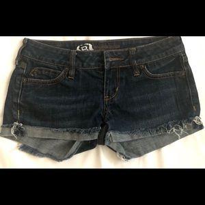 Bullhead jean shorts Sz 0